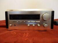 Yamaha RX-E100 40+40 RMS Natural Sound STEREO RECEIVER - Half Rack Size - No Remote