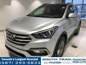 2018 Hyundai Santa Fe Sport SE AWD - LEATHER, CPO