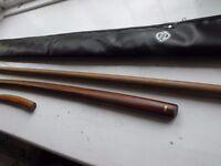 Martial arts wooden training tools - Aikido