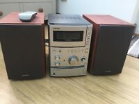 Sony Micro Hi-Fi CD Player Stereo System CMT-CPX11