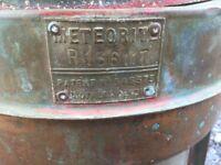 Antique The ship inn pub meteorite lantern light corner port or starboard copper brass free post