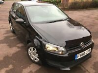 2010 Volkswagen Polo 1.2 S 5dr (a/c) (09 - 13) - Black - Great Condition