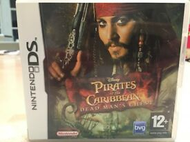Nintendo DS Game - Pirates of the Caribbean dead man's chest
