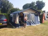 4 Berth Conway Countryman 2 Folding Camper/Trailer Tent 750kg with Awning REDUCED