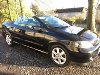 04 Reg Vauxhall Astra 1.8 Convertible (ONLY 79.000 MILES)eg 307cc megane golf Audi focus 206cc mini