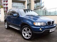 2001 BMW X5 3L M SPORT,LOVELY CONDITION.LA MANS EDITION BLUE,ELEC LEATHER,HIDS,TINTS,MOT JULY 2018