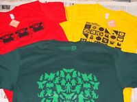 Cute cult & exclusive T shirts produced by Super7 San Francisco!
