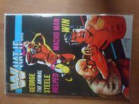 WWE special comic. George Steele and Macho Man