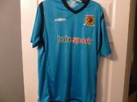 HULL CITY AWAY SHIRT VERY GOOD CONDITION SIZE LARGE