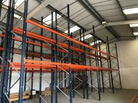 MECALUX WAREHOUSE PALLET RACKING STORAGE FRAMES & BEAMS (Brentwood Branch)