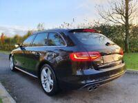 Oct 2013 Audi A4 A4 2.0 TDI 177bhp S Line Estate D.A.B. RADIO, POWER BOOT, FLAT BOTTOM WHEEL