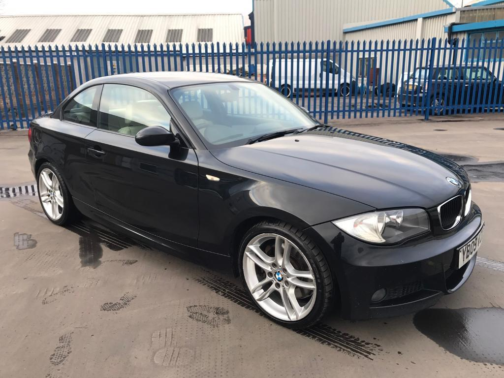 2009 BMW 123d M SPORT COUPE # 2 OWNERS # FULL BMW SERVICE HISTORY # NAV # HEATED SEATS # HPI CLEAR