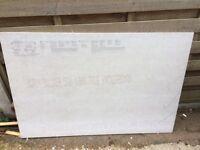 Hardibacker boards.6No 1200x900x12mm