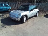 Mini 1.6 2004 Spares or Repair