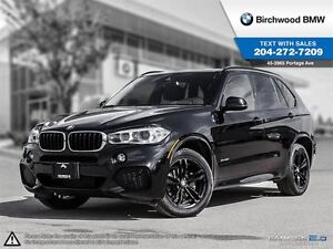 2016 BMW X5 xDrive35i M Sport Line! Local One Owner!
