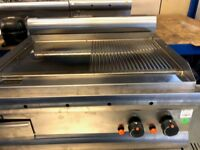 Natural Gas Table Top Griddle 70cm £800 by Lincat EX DEMO