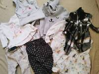 Baby girl 3-6 6-9 month bundle River Island, Zara, Next, John Lewis, M&S