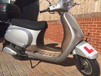 LINTEX CLASSIC 125CC, Vespa similar scooter, 2015