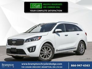 2018 Kia Sorento SXL | V6 | AWD | 1 OWNER TRADE-IN