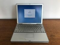 "Apple PowerBook G4 12"" - partly working"