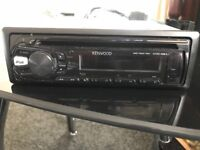 Kenwood CD player with aux usb adaptor I pod function