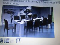 Consola 140 extendable table