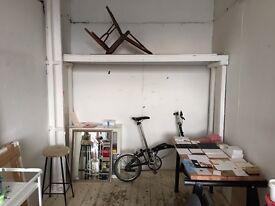 Studio share desk space