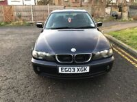 2003 BMW 3 Series 2.0 318i SE 4dr Manual @07445775115