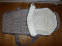 Carrycot, Mink in colour - made by 'Graco'