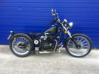 2016 SINNIS HIEST 250cc HARD TAIL BOBBER , IMMACULATE CONDITION , HPI CLEAR , ONLY 900 MILES