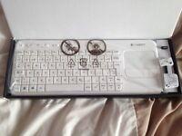Logitech Keyboard and Mouse - k400