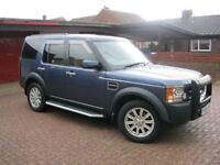 Land Rover Discovery 3, 2.7 TDV6, 12 Month mot, 7 SEATER. £3,995. (P/X Welcome)