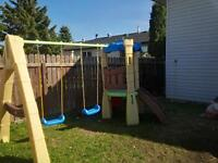 """Little Tikes Climber and Swing set combo """"Look Out"""" model"""