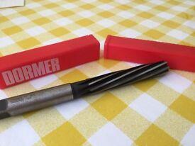 Unused 16mm high speed steel dormer hand reamer