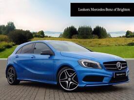Mercedes-Benz A Class A200 CDI BLUEEFFICIENCY AMG SPORT (blue) 2012-10-31