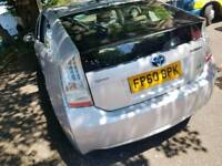 LOW MILLEGE 55,000 AUTOMATIC £0 ROAD TAX 2011 UK MODEL TOYOTA PRIUS ELECTRIC/HYBRID 12MONTHS MOT