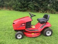 Toro ride on lawnmower