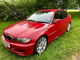 BMW E46 320cd Diesel Imola Red 121k M Sport Coupe 3 Series