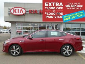 2016 Kia Optima SX TURBO Bi-weekly only $127*/WEEK ON THE ROAD