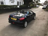 Peugeot 206cc convertible