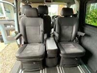 VW t5 5.1 transporter caravelle seats and table