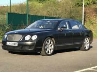 2005 (Sep 55) BENTLEY FLYING SPUR 6.0 W12 - Saloon 4 Door - AUTO - Petrol - BLACK *FBSH*15 STAMPS*PX