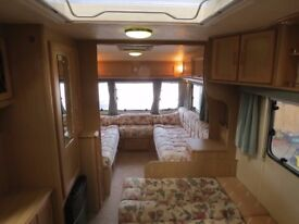 Lunar Lexon 2000 year,U shape 4 berth with 2 double beds,full awning all accessories,bone dry