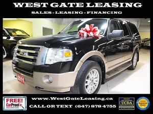 2011 Ford Expedition V8 4X4 | LEATHER | 8 PASSENGER | BACK UP CA