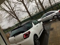 Ds3 white with black roof ammaculate condition
