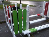 4 foot Horse Jump Wing Standards For Sale $200.00!!