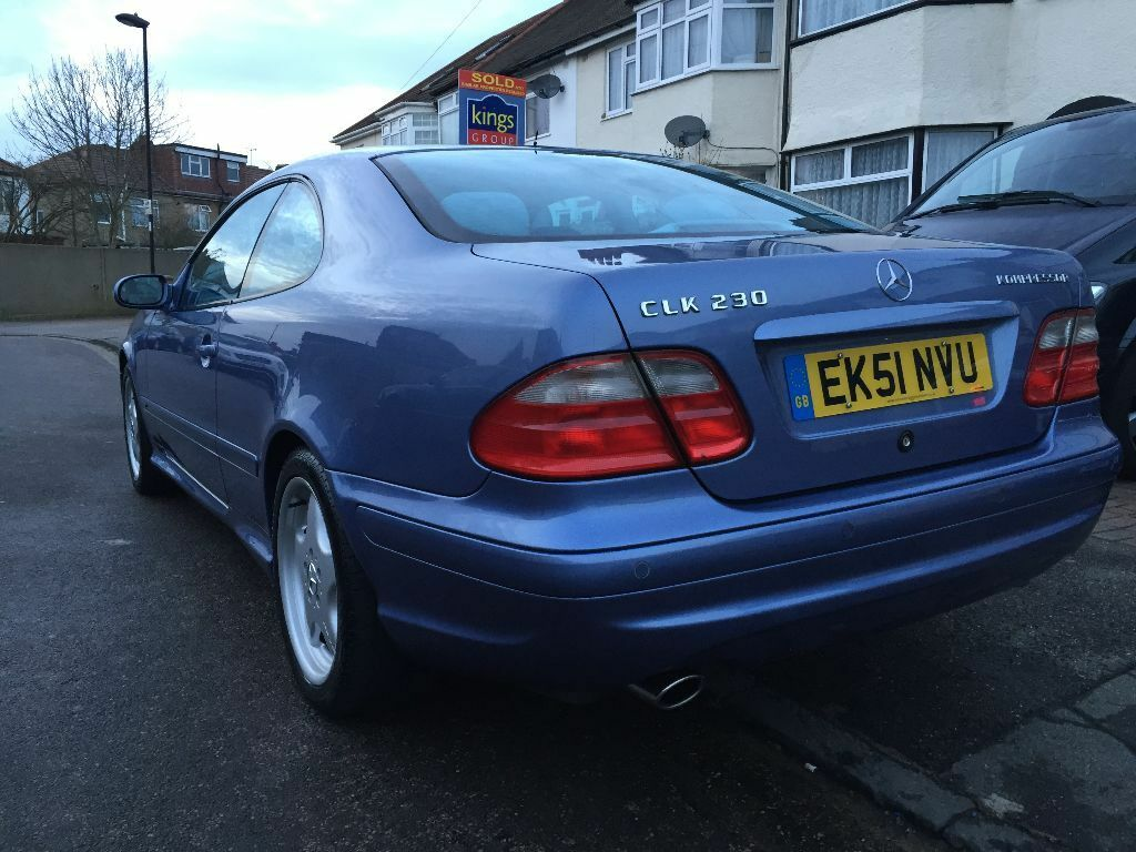 mercedes clk 230 kompressor avantgarde amg spec in enfield london gumtree. Black Bedroom Furniture Sets. Home Design Ideas