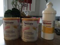 Neocate tins and large diprobase cream