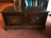Solid Oak Tv Unit (in need of restoration)