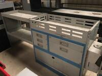 Van racking system draws and shelves